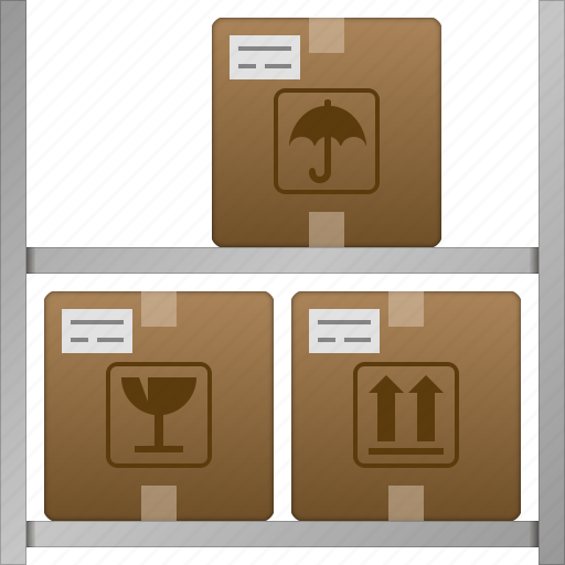 goods, logistic, shipping, storage, store, transportation, warehouse icon