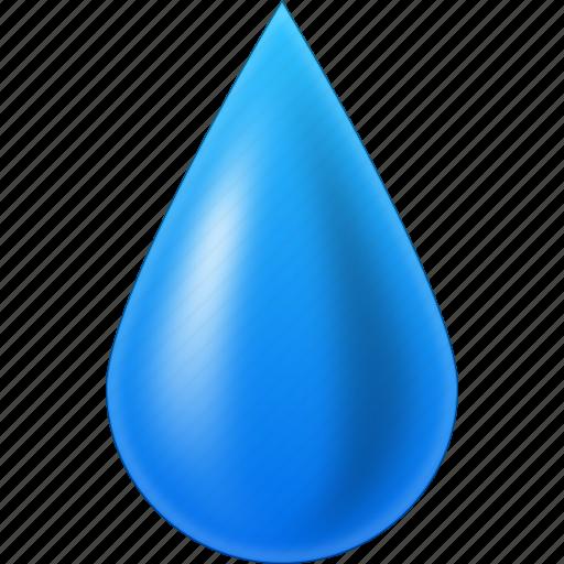 clean, clear, fuel, oil, rain, transparent liquid, water drop icon