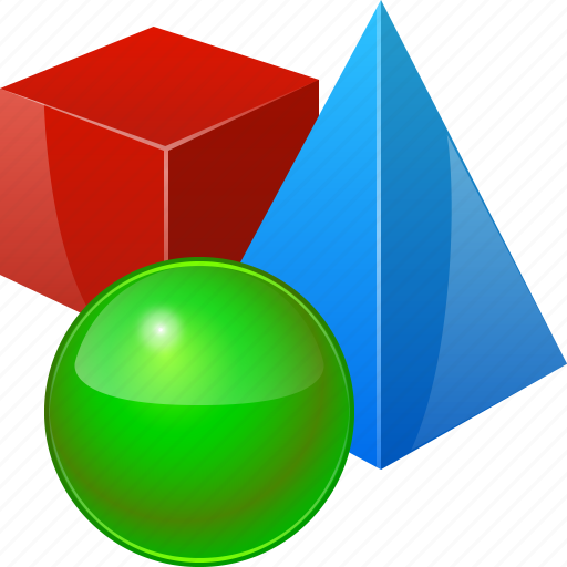 3d objects cube model object pyramide reality sphere for 3d object editor
