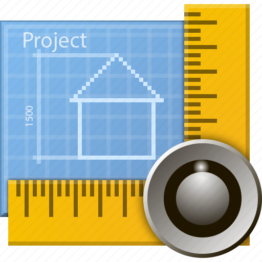construction, document, drawing, engineering, graph, project, ruler icon
