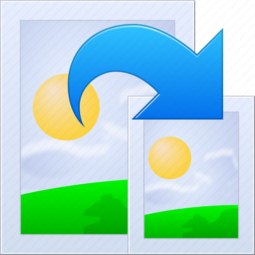 copy, move, photo, photos, pictures, resize image, size icon