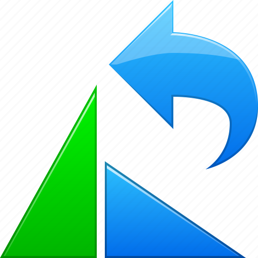 arrow, back, left, previous, rotate, rotation, undo icon