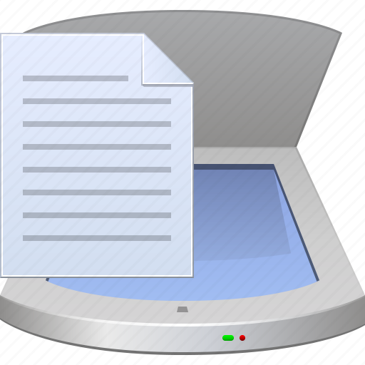 device, document, hardware, office, scan page, scanner, scanning icon