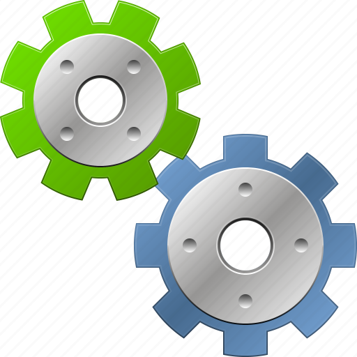 application tools, control center, desktop settings, gear box, options, system configuration, transmission gears icon
