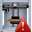 3d printing, 3dprinter, danger, print, printer, problem, warning