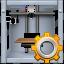 3d printing, 3dprinter, gear, options, print, printer, settings