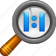 100 percent, default, magnifying glass, real scale, search, view, zoom icon