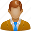 boss, businessman, chief, customer, employee, manager, person icon