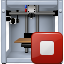 3d printing, equipment, print, printer, replicator, stop button, terminate icon