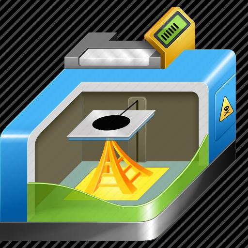 3d, printer, printing, reprap icon