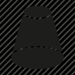 cylinder, figure, geometry, shape, solid figure, three-dimensional figure icon