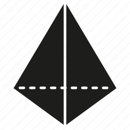 figure, geometry, shape, solid figure, three-dimensional figure icon