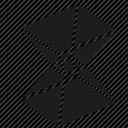figure, geometry, irregular polyhedron, shape, solid figure, three-dimensional figure icon