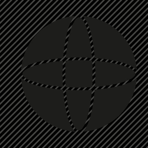 figure, geometry, shape, solid figure, sphere, three-dimensional figure icon