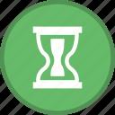 glass, hourglass, sandglass icon
