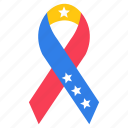 american ribbon, flag ribbon, star ribbon, streamer, support symbol icon