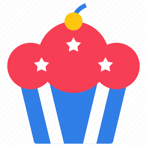 cupcake, dessert, food, muffin, palm cake icon