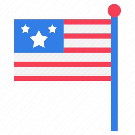 american banner, american flag, american label, flag, independence day, independence flag icon