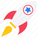 american rocket, american rocket spacecraft, missile, skyrocket, spacecraft, spaceship icon