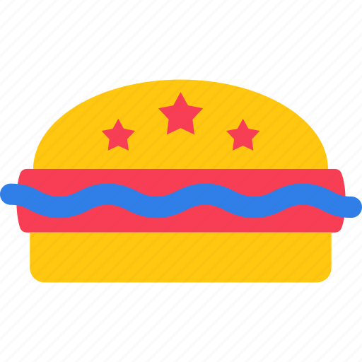 fast food, hamburger, junk food, patty burger, sandwich icon