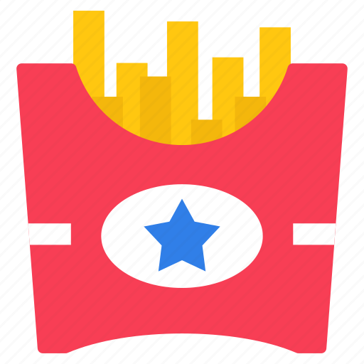 fast food, french fries, junk food, potato chips, potato fries icon