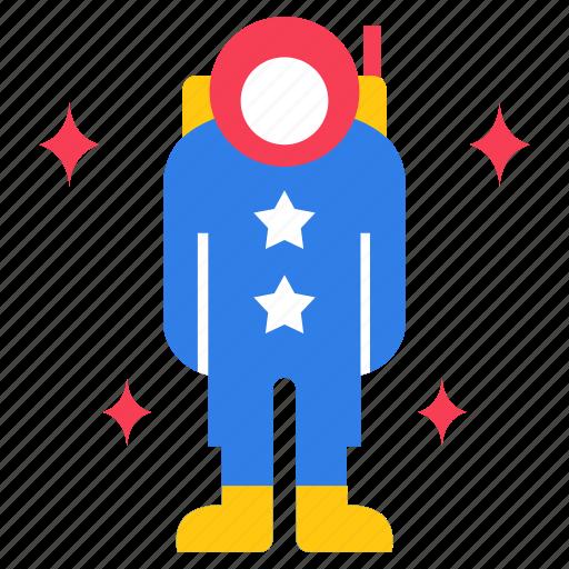 astronaut, moonwalker, pilot, rocket scientist, space explorer icon