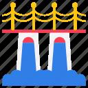 american bridge, american dam, historical place, memorial bridge, river bridge icon