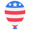 american balloon, balloon, independency balloon, printed balloon, star balloon icon