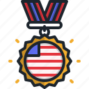 badge, cultures, united, states, of, america, usa
