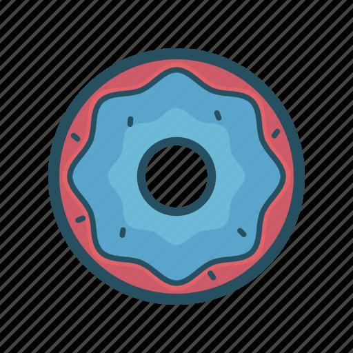 doughnut, eat, eating, fast food, food, jummy, sweet icon