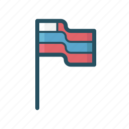america, american flag, flag, flags, fourth of july, usa holiday icon