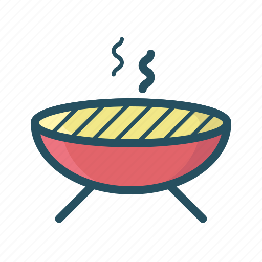 barbecue, barbeq, bbq, grill, grilled meat, stake, sunny day icon