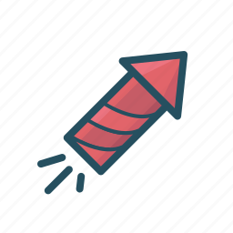 crackers, fire works, fireworks, launch, launch rocket, launched, rocket icon
