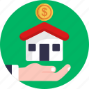 auction, house, property