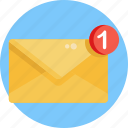 email, envelope, mail, send, communication, message, inbox