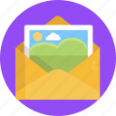 email, image, gallery, envelope, mail, send, message