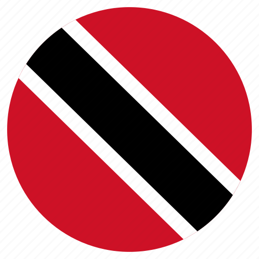 Circular, country, flag, trinidad and tobago, world icon - Download on Iconfinder