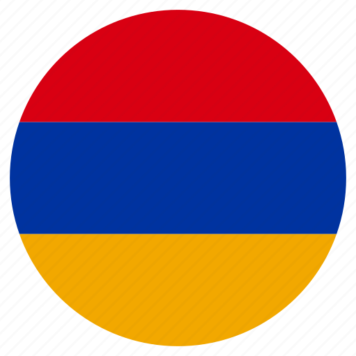 Image result for armenia flag circle
