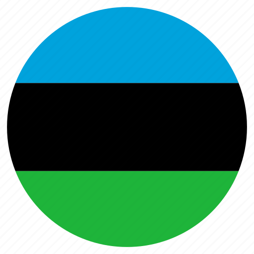 circle, country, flag, zanzibar icon