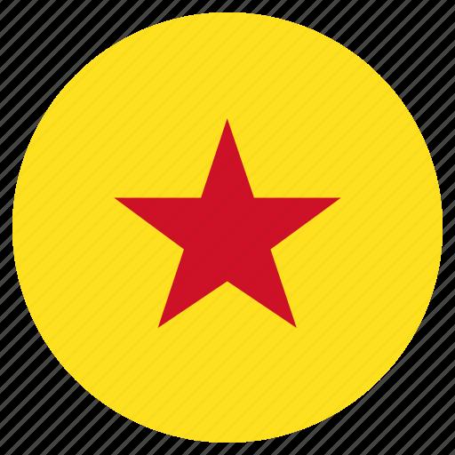 circle, country, flag, moheli icon