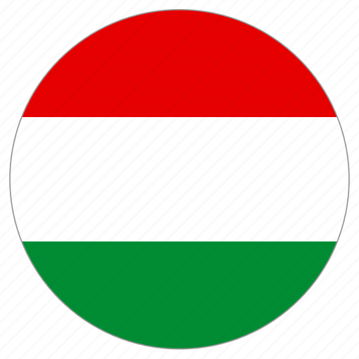 Image result for hungary circle flag