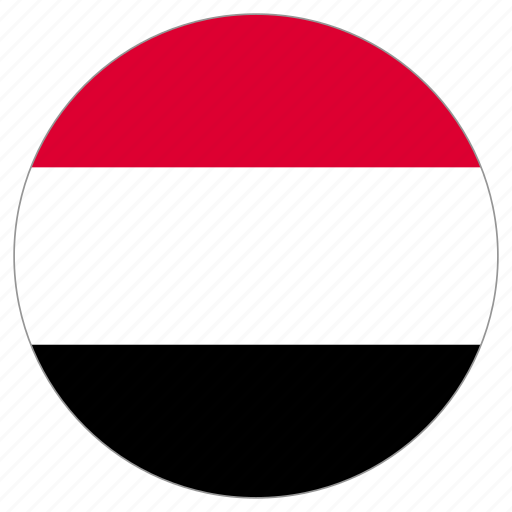 Circle, country, flag, yemen, world icon - Download on Iconfinder