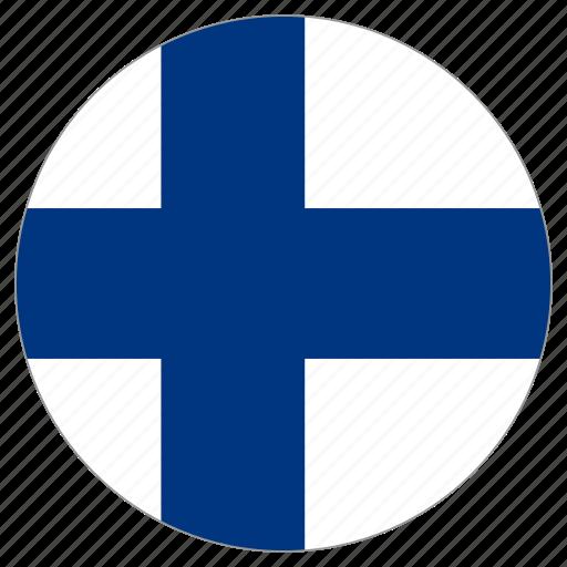 Slikovni rezultat za circle flag finland