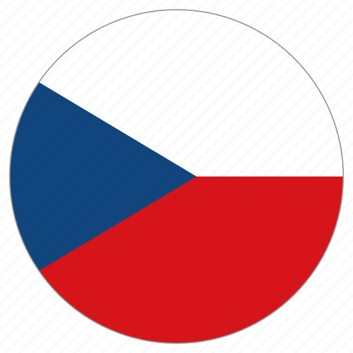 Slikovni rezultat za circle flag czech rep