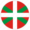 basque country, circle, country, flag, world