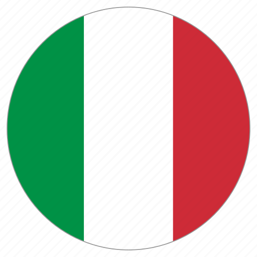 Image result for italy flag circle