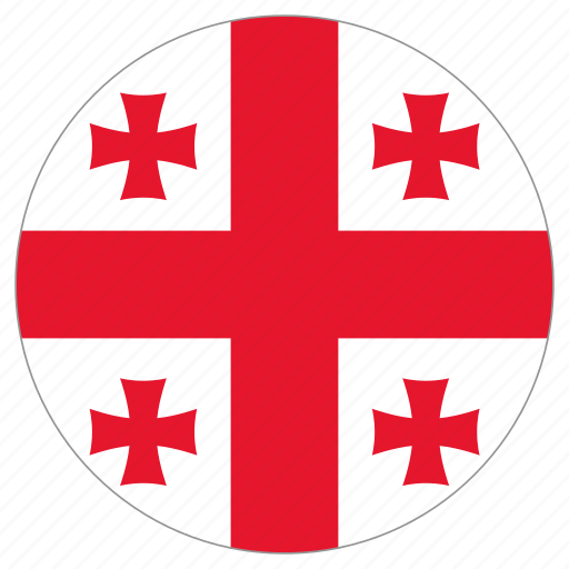 Image result for georgia flag circle