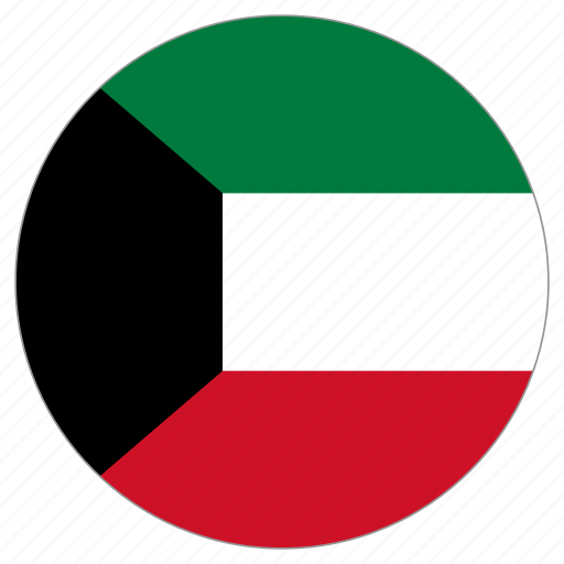 Image result for kuwait circle flag