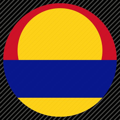 circular, flag, palmyra atoll, world icon