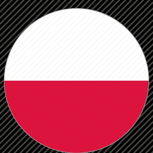 Slikovni rezultat za circle flag poland